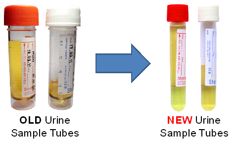 NEW THIN URINE TUBES FOR MC&S